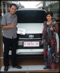 Sales Marketing Mobil Dealer Toyota Blora Syarief