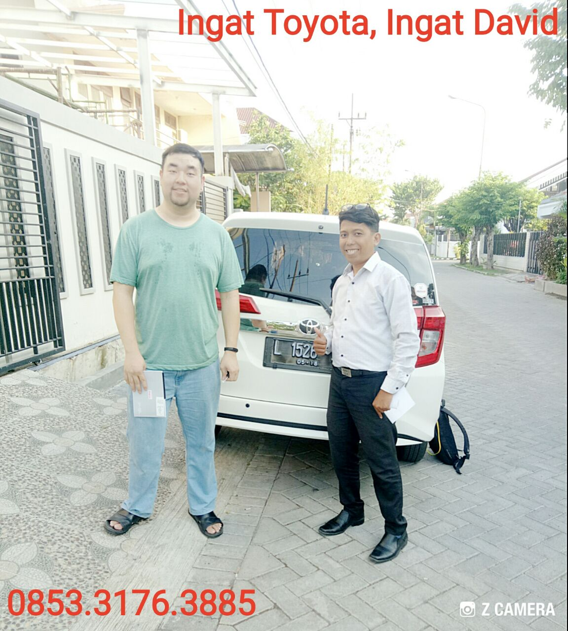 Sales Marketing Mobil Dealer Toyota David