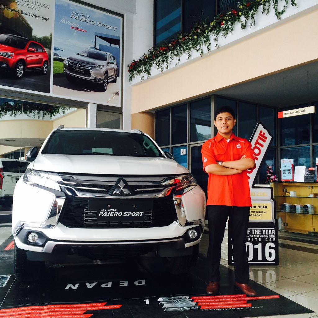 Sales Marketing Mobil Dealer Mitsubishi Yudi Sahputra