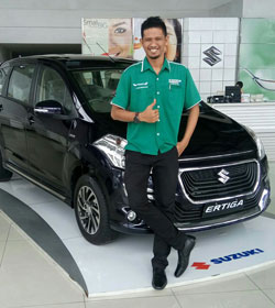 Sales Marketing Mobil Dealer Suzuki Medan Juanda