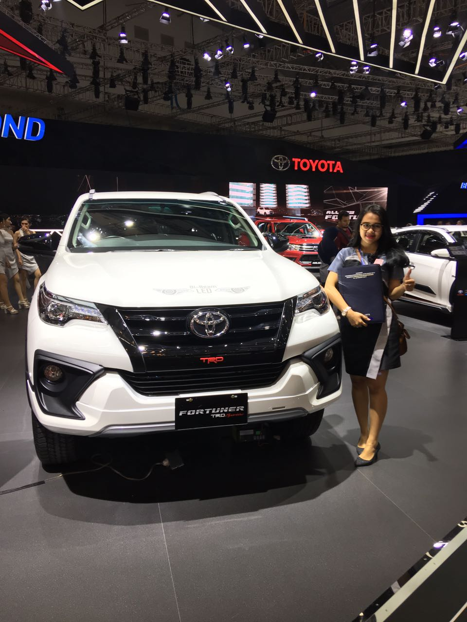 Sales Marketing Mobil Dealer Toyota Helen