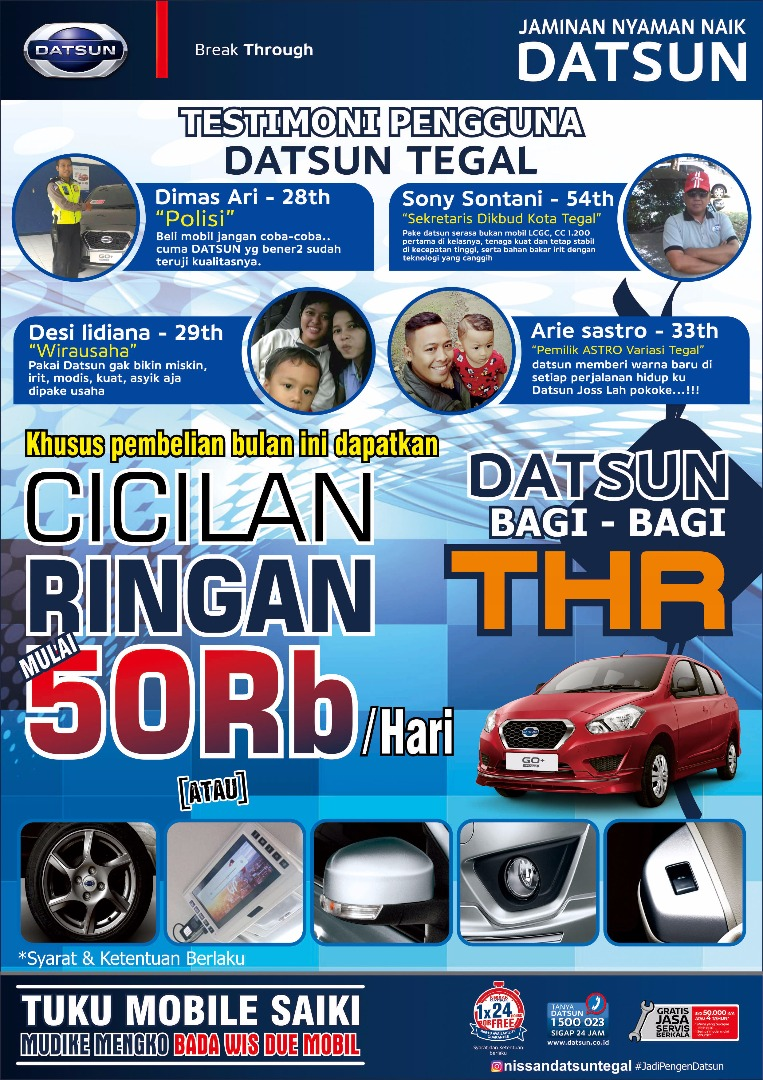 Promo Nissan Tegal By Chanif