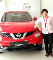 Sales Marketing Mobil Dealer Nissan Malang Jenny