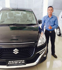 Sales Marketing Mobil Dealer Suzuki Cikarang Bartholomeus Agung