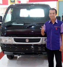 Sales Marketing Mobil Dealer Suzuki Malang Eko Aprilia