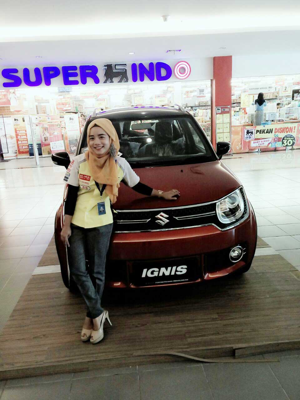 Sales Marketing Mobil Dealer Suzuki Siska