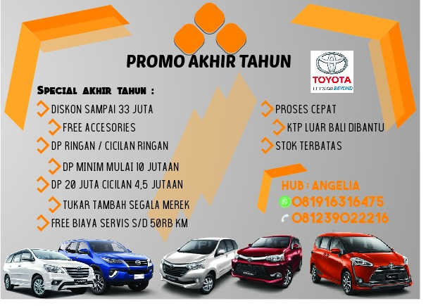 Promo Toyota By Angelia