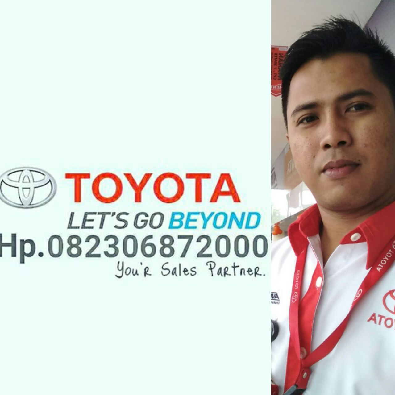 Sales Marketing Mobil Dealer Toyota Lampung Andri