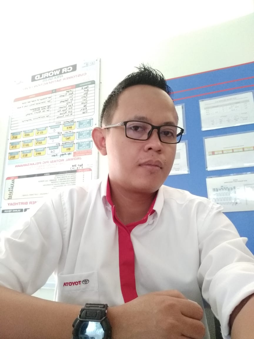 Sales Marketing Mobil Dealer Toyota Jogja Yudi