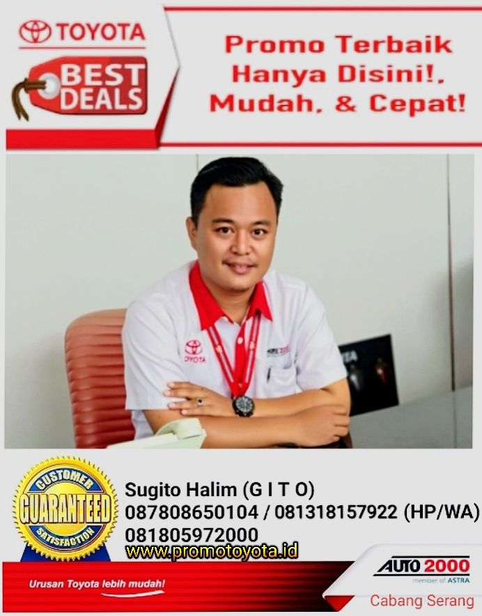 Sales Marketing Mobil Dealer Toyota Gito