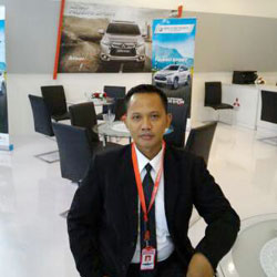 Sales Marketing Mobil Dealer Mitsubishi Ray