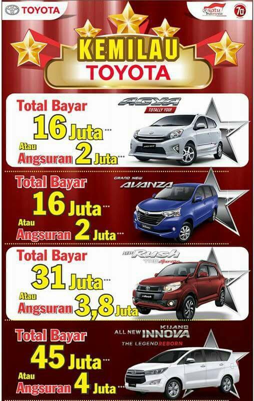 Info Promo Toyota Bukittinggi Payakumbuh