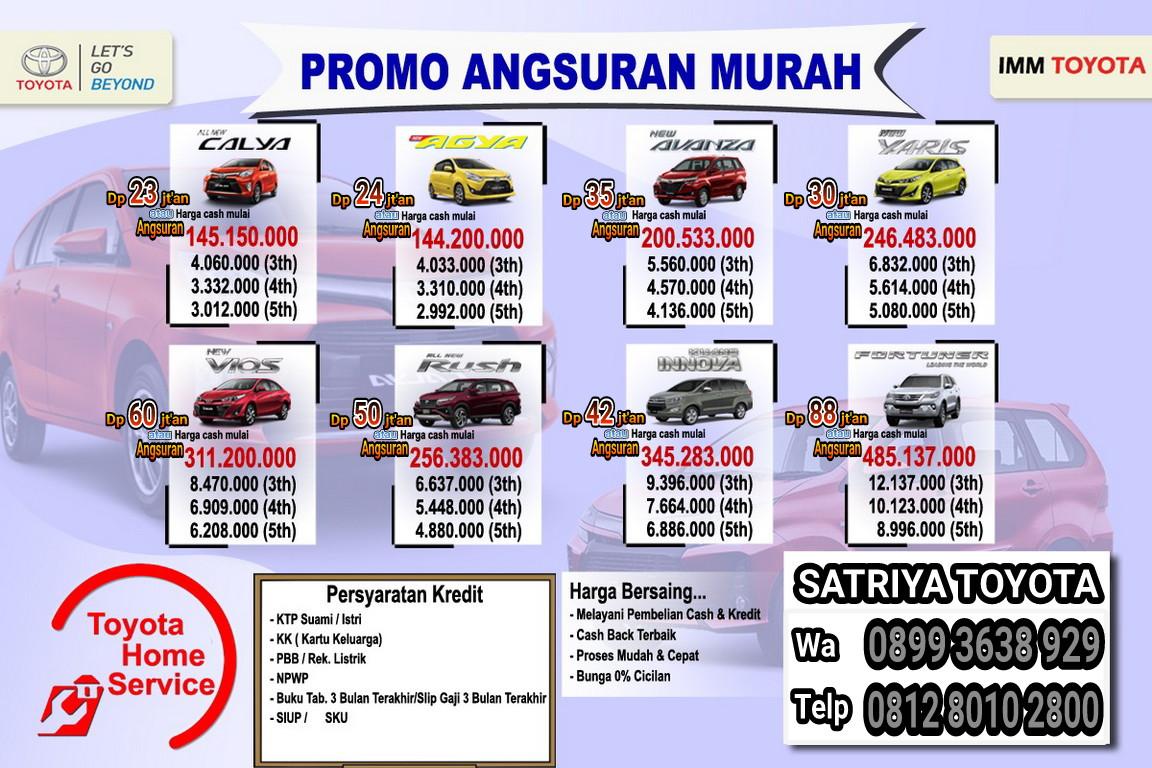 Promo Toyota By Satriya