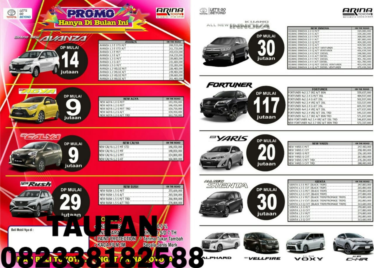 Promo Toyota By Taufan