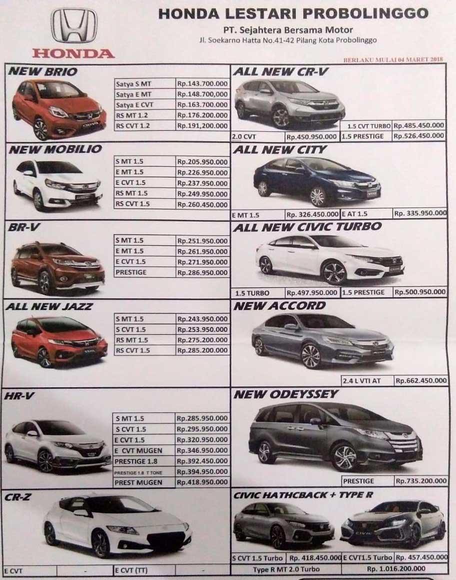 Sales Honda Probolinggo Iklan Kosong Promo Paling Murah