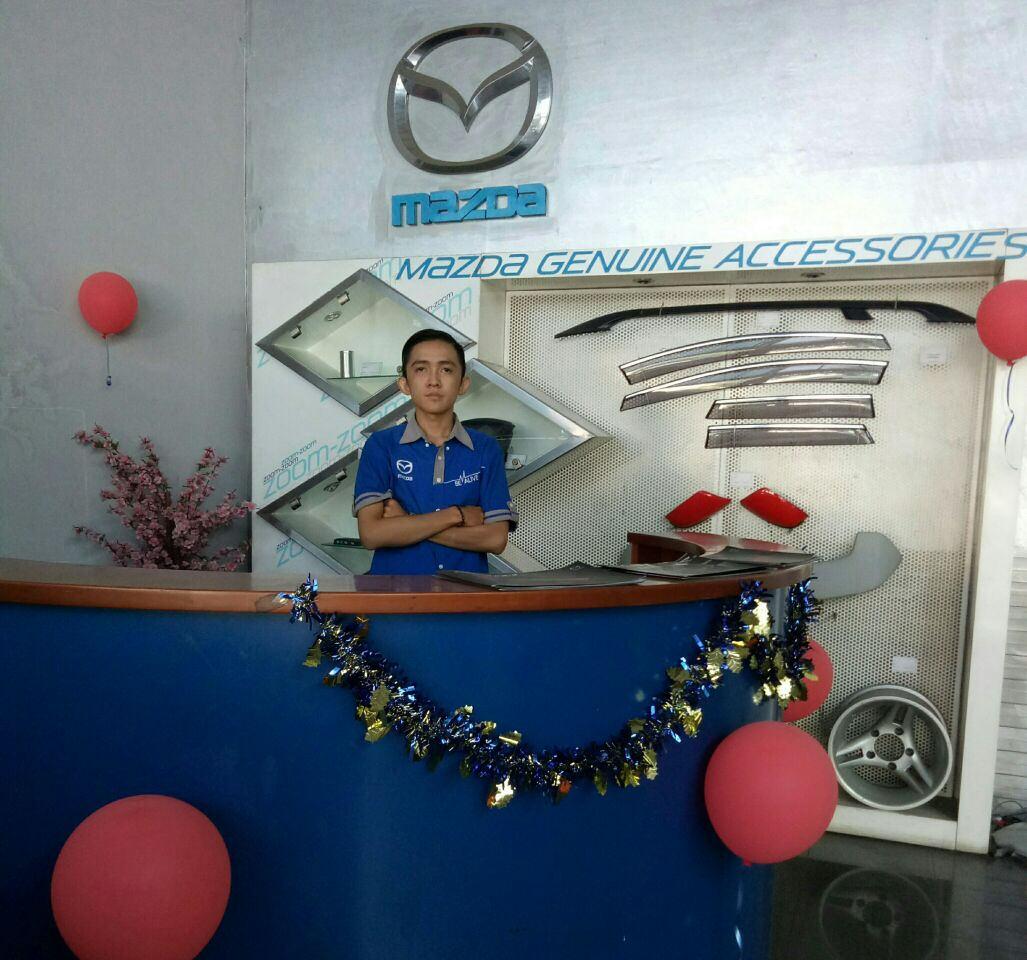 Sales Marketing Mobil Dealer Mazda Banjarmasin Alfin
