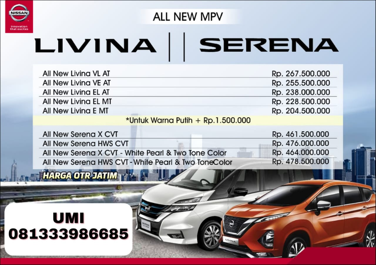 Harga Mobil Nissan By Umi