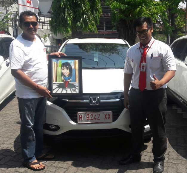 Sales Marketing Mobil Dealer Honda Semarang Roy