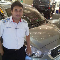 Sales Marketing Mobil Dealer Datsun Lamongan Jefri