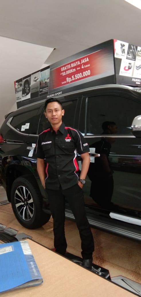 Sales Marketing Mobil Dealer Mitsubishi Alung