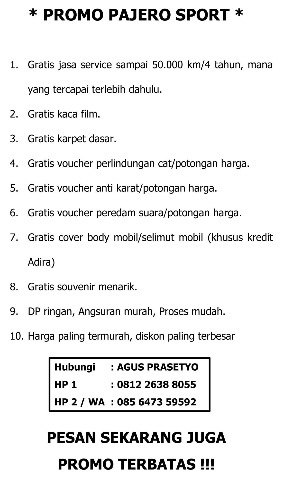 Promo 2 By Agus