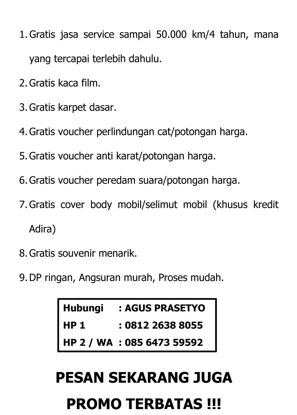 Promo 3 By Agus