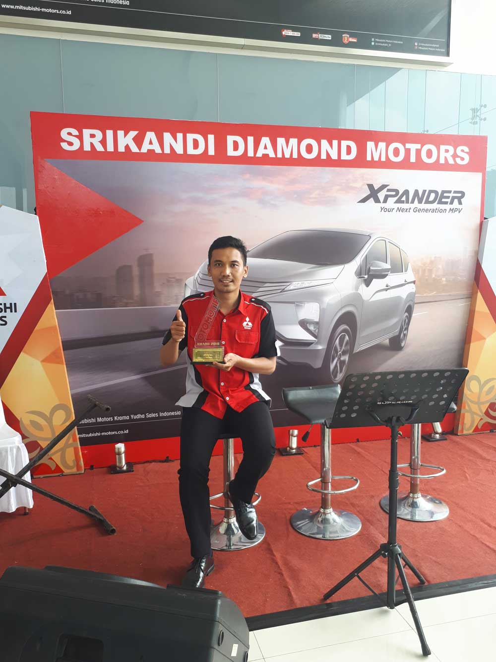 Sales Marketing Mobil Dealer Mitsubishi Anrian
