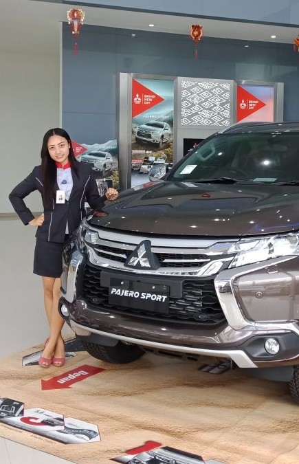 Sales Marketing Mobil Dealer Mitsubishi Danis