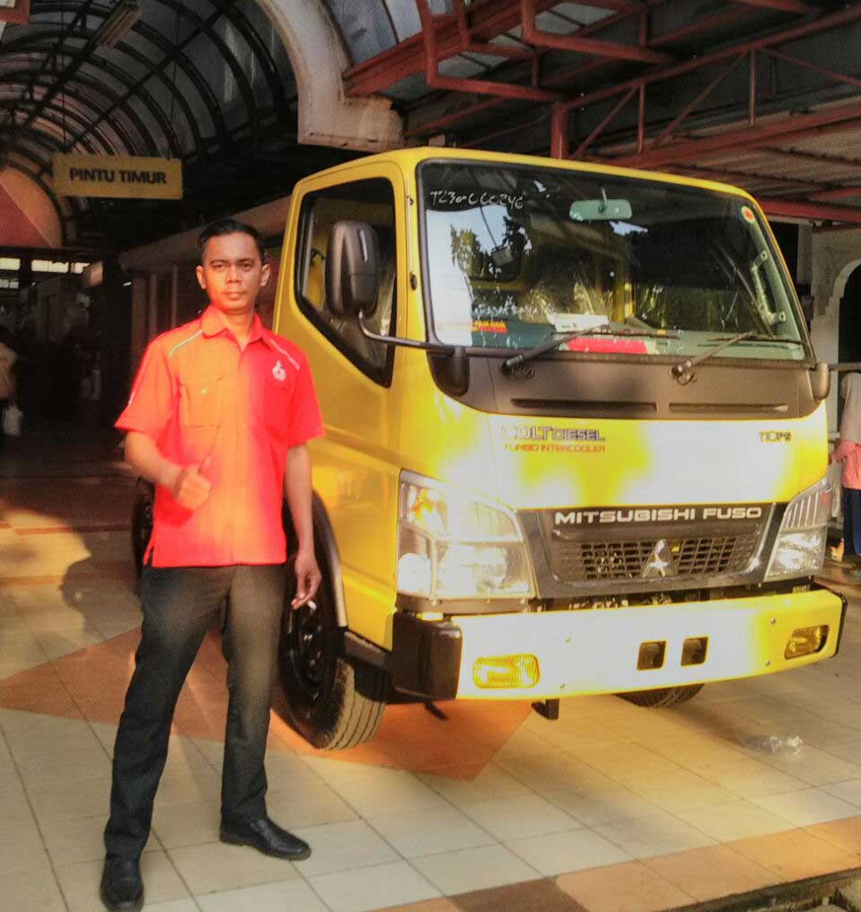 Sales Marketing Mobil Dealer Mitsubishi Tangerang Selatan Asep