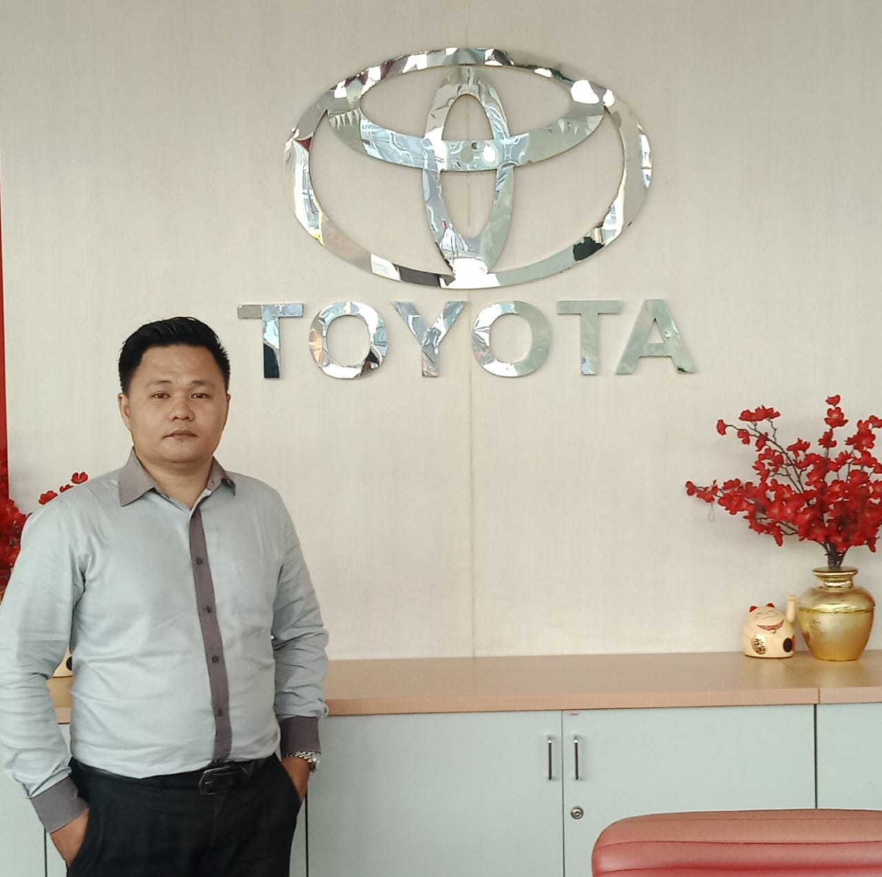 Sales Marketing Mobil Dealer Toyota Martin