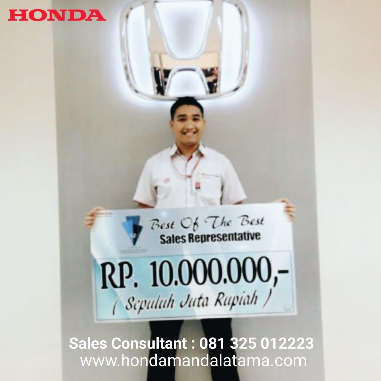 Sales Marketing Mobil Dealer Honda Alvin