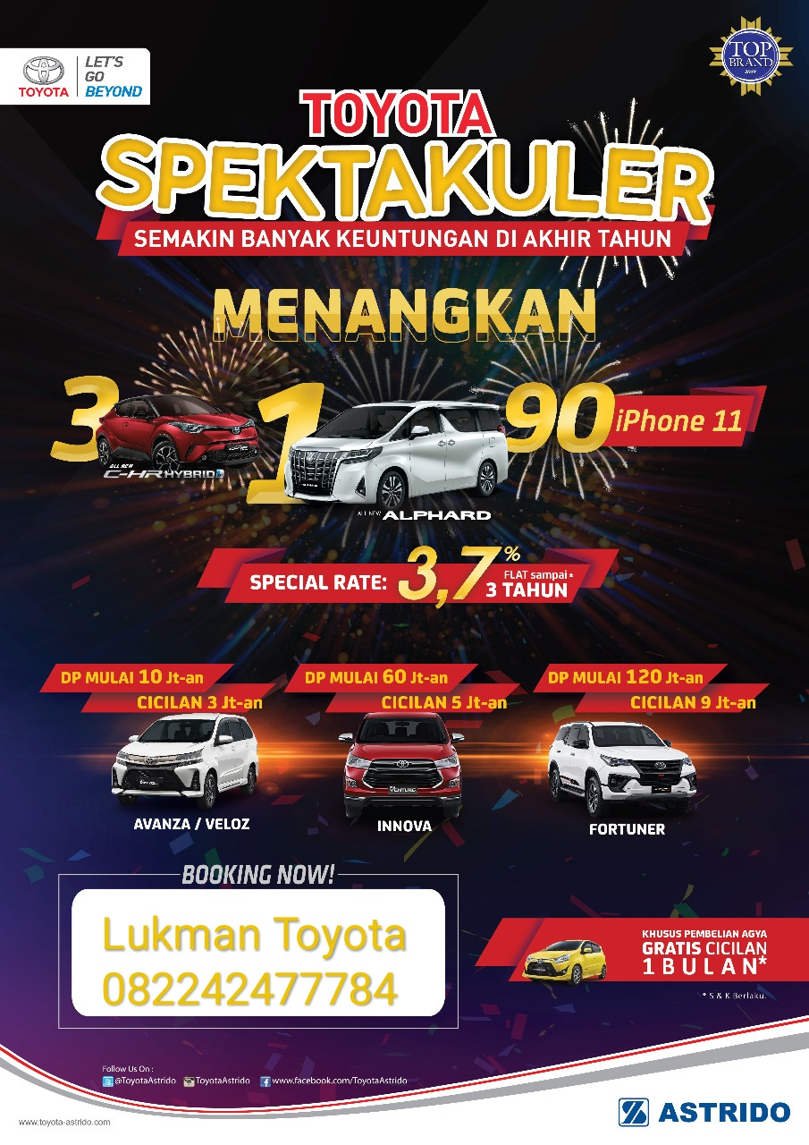 Sales Marketing Mobil Dealer Toyota Lukman