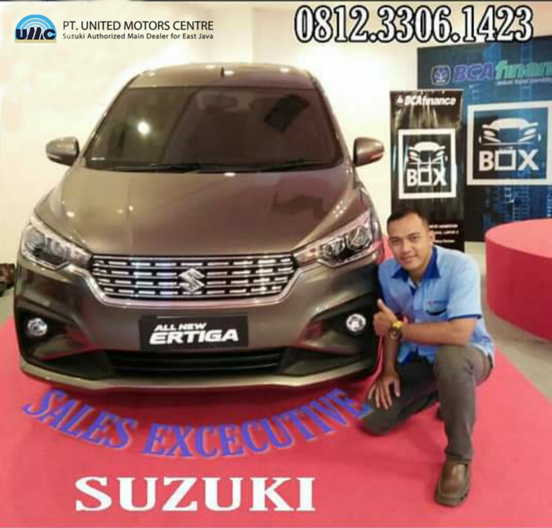 Sales Marketing Mobil Dealer Suzuki Sidoarjo Reza