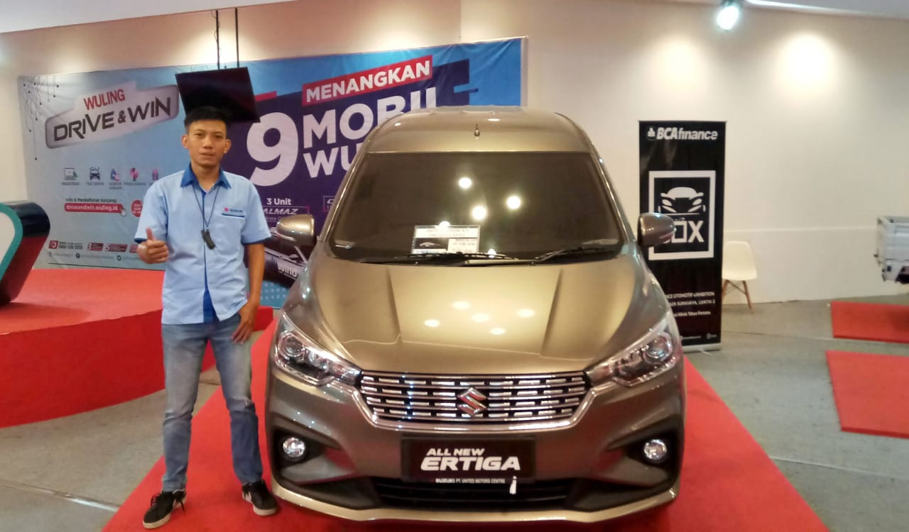 Sales Marketing Mobil Dealer Suzuki Nanang